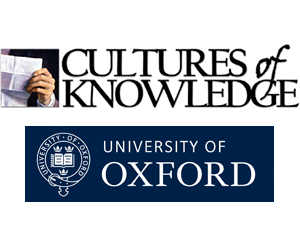 Cultures of Knowledge, Oxford